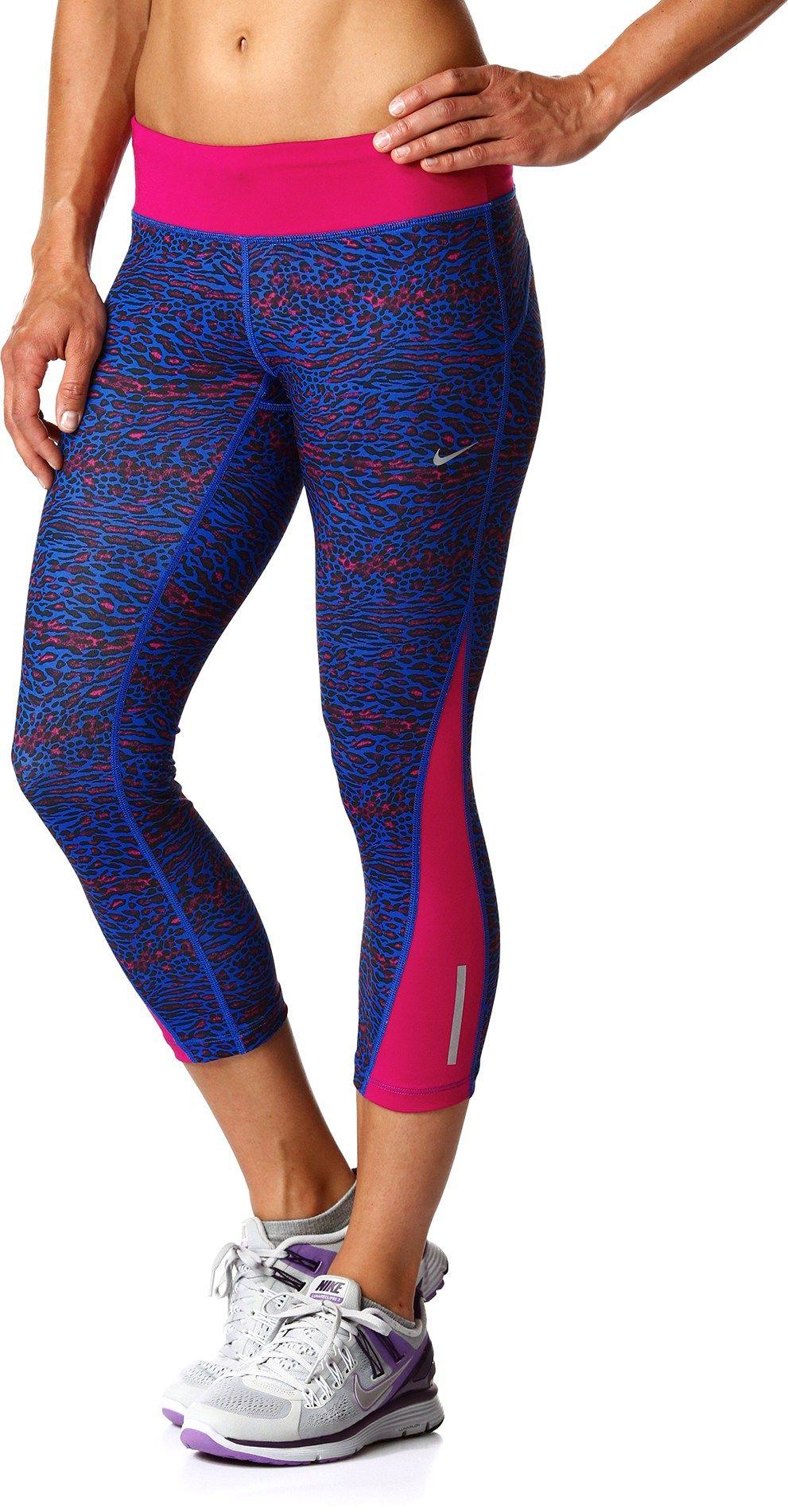 77ffdf5f70d22a Nike Female Racer Leopard Print Crop Tights - Women's | *Apparel ...