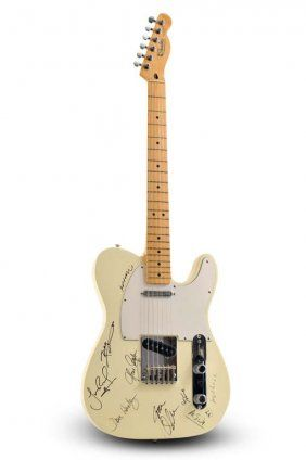 Signed VH1 Honors Fender Telecaster
