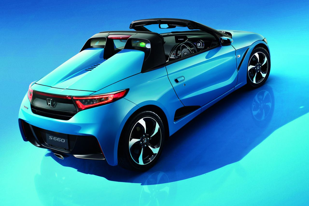 Honda S660 Kei car, Roadsters, Honda