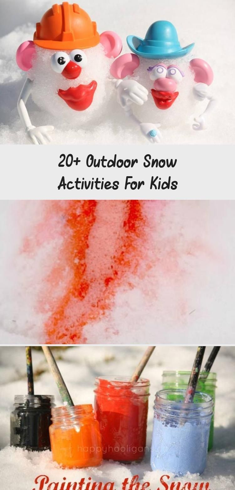 20+ Outdoor Snow Activities For Kids #snowdayactivitiesforkids 20 fun outdoor snow activities for kids. Be prepared for those snow days when school is off and kids want to go outside and play. This list of snow and ice activities for kids of all ages is just what you need for any winter day. #winterkidscraftSnowman #winterkidscraftEasy #winterkidscraftToddlers #winterkidscraftSchool #winterkidscraftIdeas #snowdayactivitiesforkids 20+ Outdoor Snow Activities For Kids #snowdayactivitiesforkids 20 #snowdayactivitiesforkids