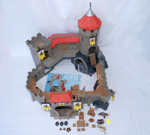 playmobil chateau fort des chevaliers du lion 4865 notice. Black Bedroom Furniture Sets. Home Design Ideas