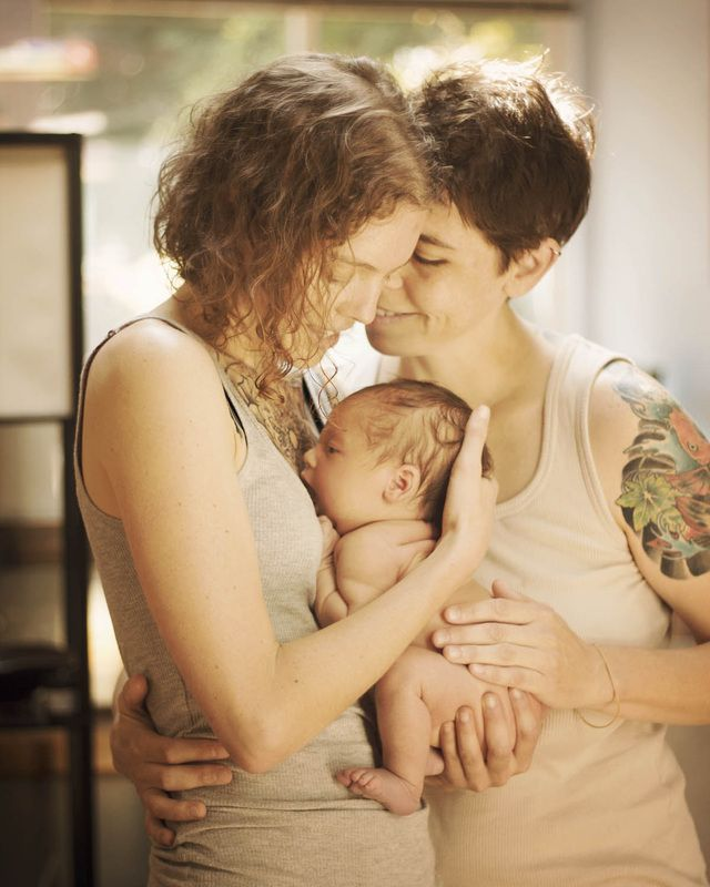 Family Equality 3 Tattoo Beautiful Photos Lesbian Family