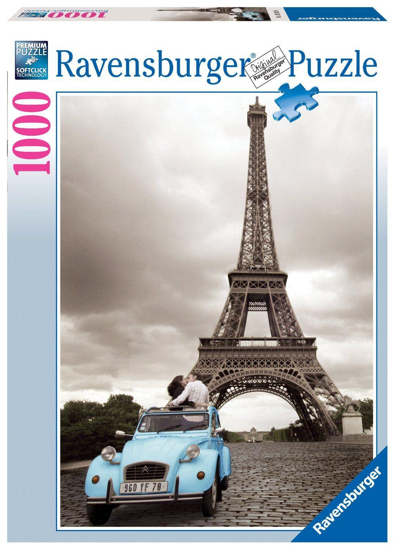 Ravensburger Puzzle Romantic Paris 1000pcs 19243 Manufacturer Ravensburger Enarxis Code 015926 Toys Puzzle Ravensburger Romantic Paris Paris Romance