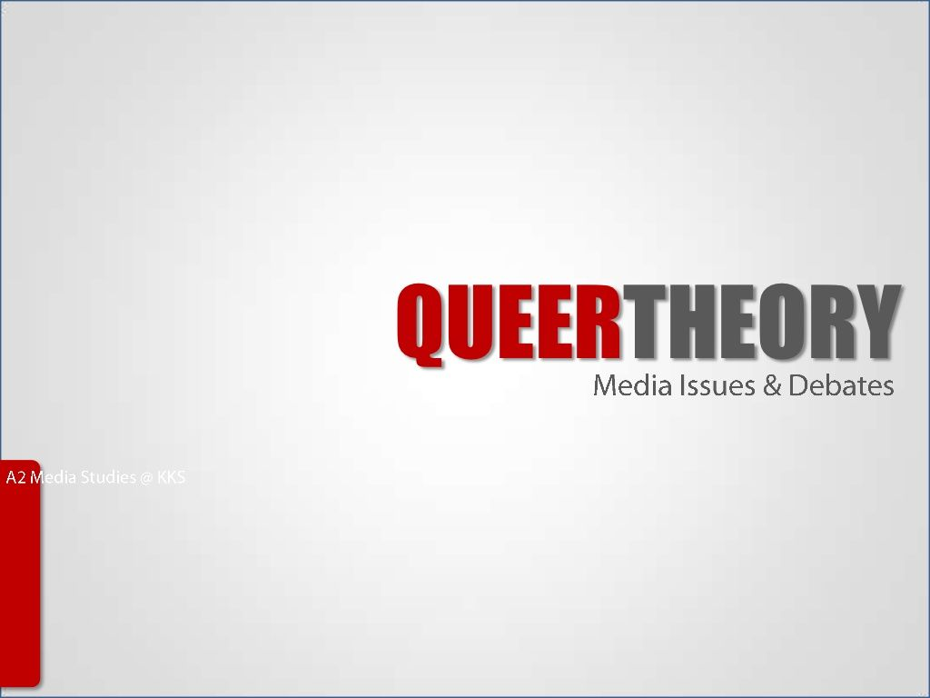 QUEERTHEORY