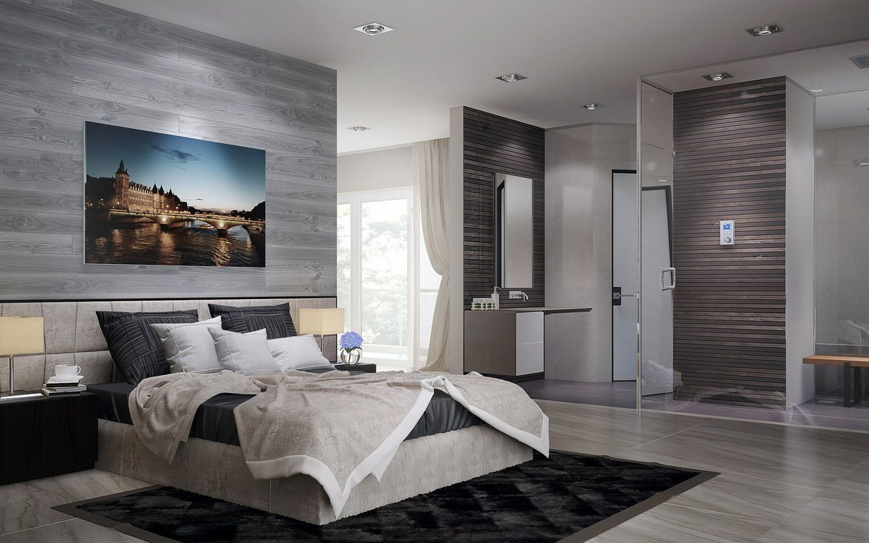 Bedroom Ensuite Designs Captivating Open Ensuite  Google Search  Ensuite  Pinterest  Bedrooms Inspiration Design