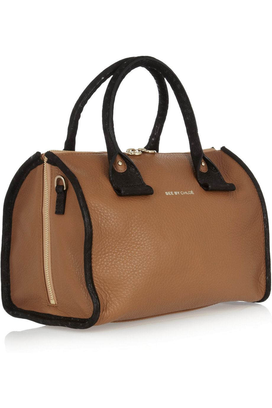 April leather duffle bag ¬ See by Chloé