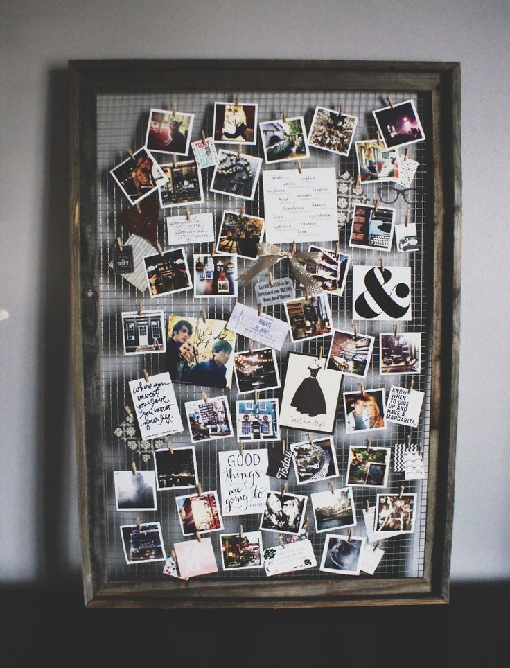 32 Photo Collage Diys For A More Beautiful Home Dorm Diy Dorm