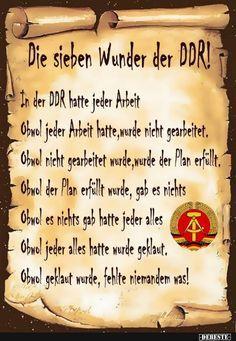 Die sieben Wunder der DDR!
