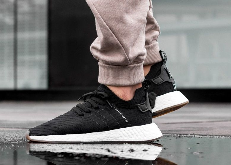 Adidas NMD R2 PK White Black BY3015
