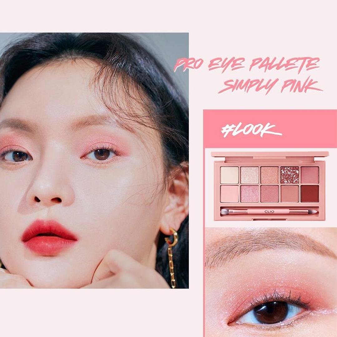 CLIO Pro Eye Palette Simply Pink . eyemakeup makeup