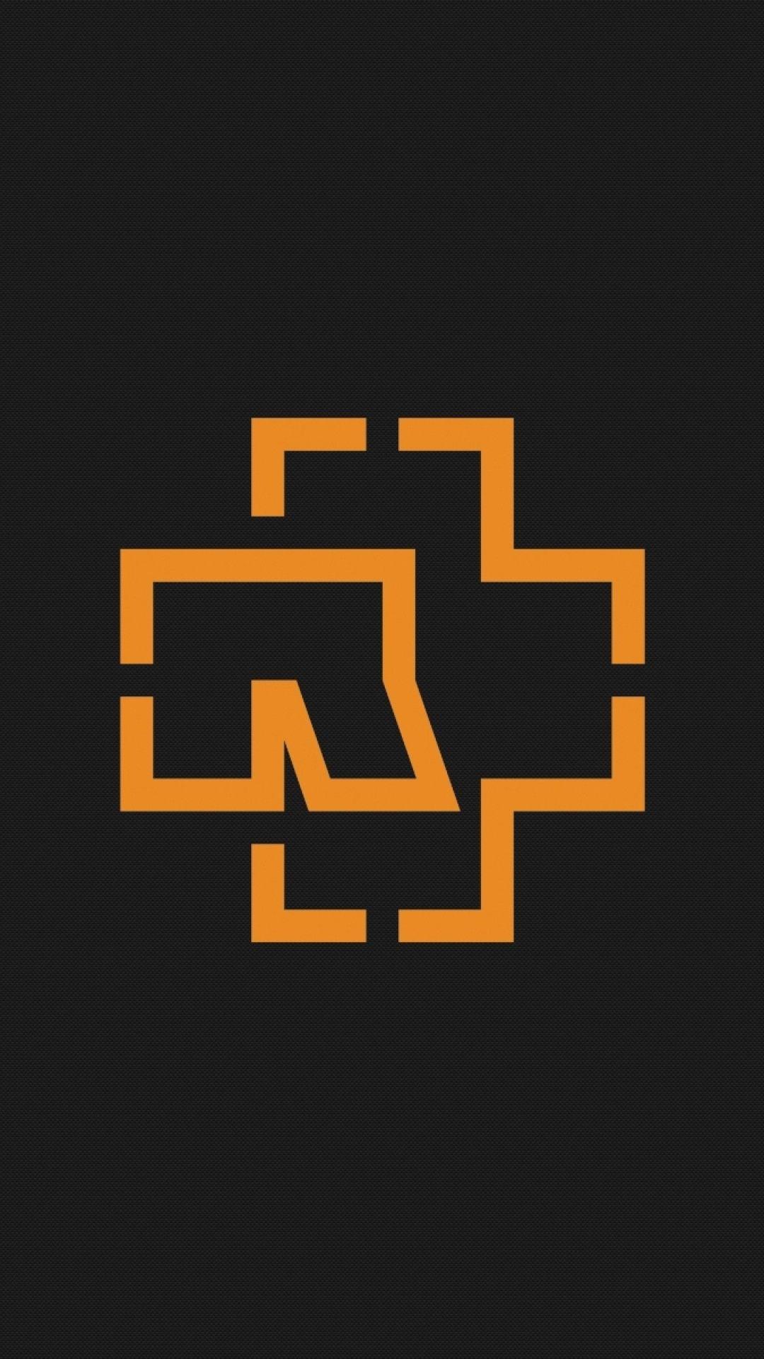 1080x1920 Preview Wallpaper Rammstein Symbol Background Graphics Orange 1080x1920 Rammstein Twenty One Pilots Wallpaper Wallpaper