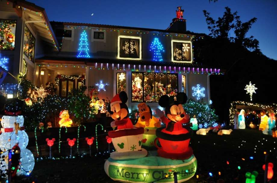 Christmas Lights Bay Area The Best Neighborhoods For Holiday Lights In The Bay Area  Spots