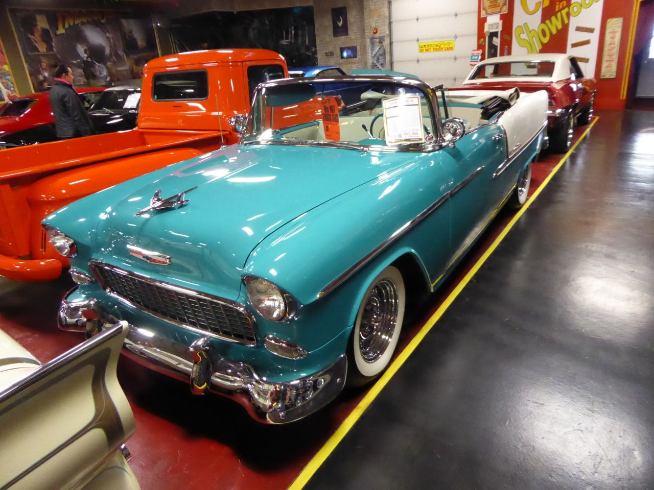 From Cruiseins to Concours — '55 Bel Air en 2020 (con