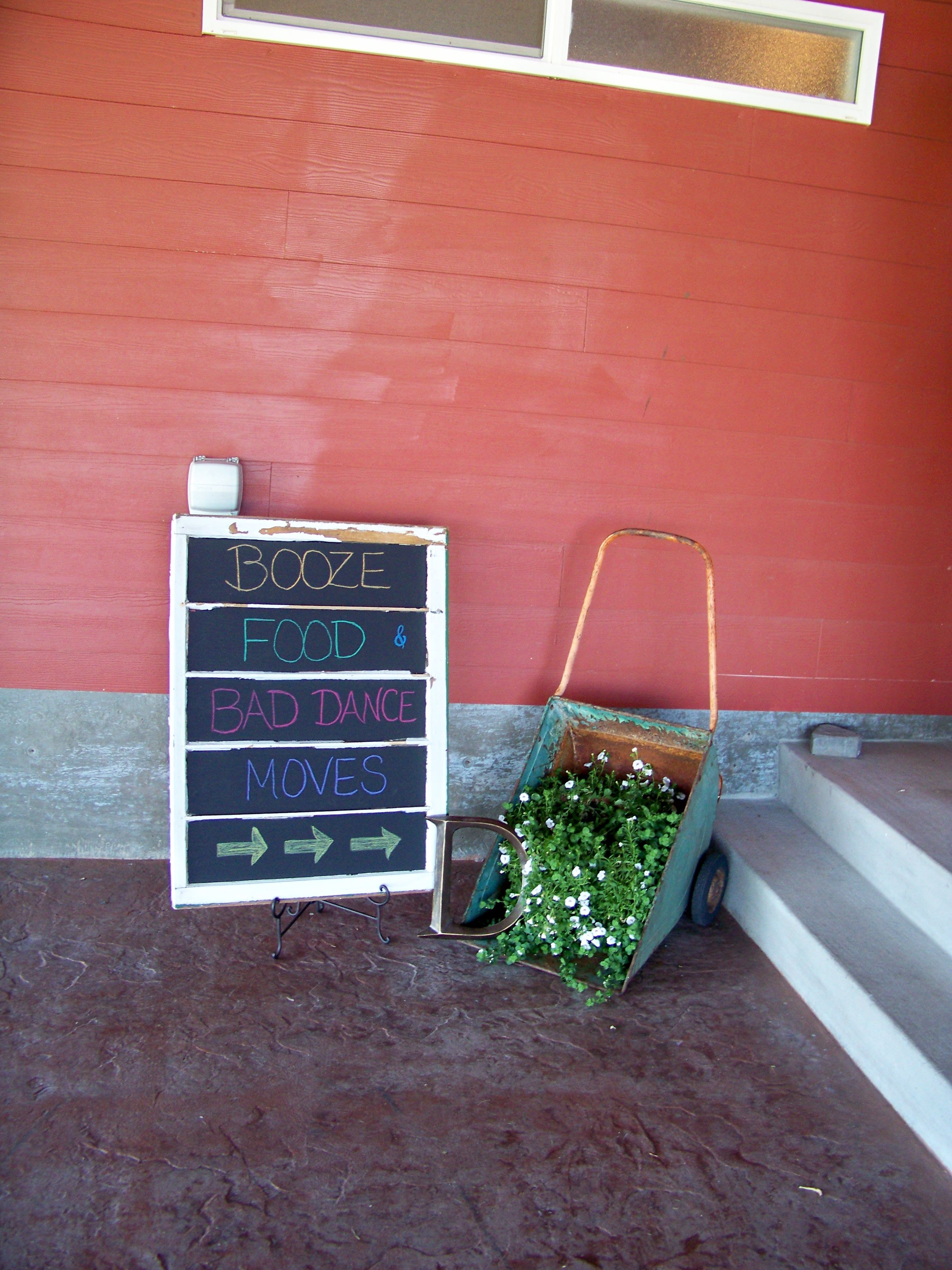 Reception Signage - Red Barn Farms Colton, WA   Barn ...
