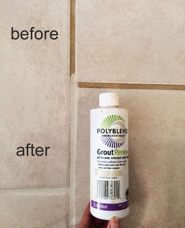 Renewed Grout From Home Depot With Just A Couple Of