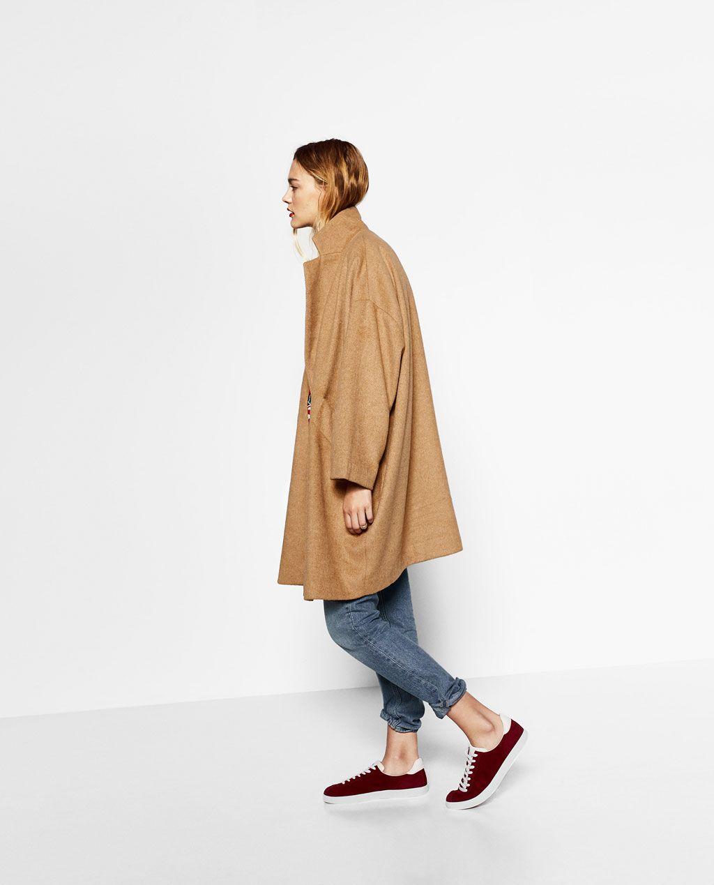 OVERSIZED COAT-Coats-OUTERWEAR-WOMAN | ZARA United States