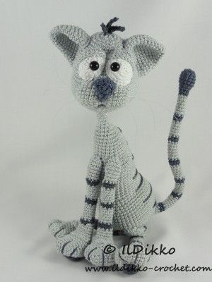 Kit The Cat Amigurumi Crochet Pattern Toys Dolls Amigurumi