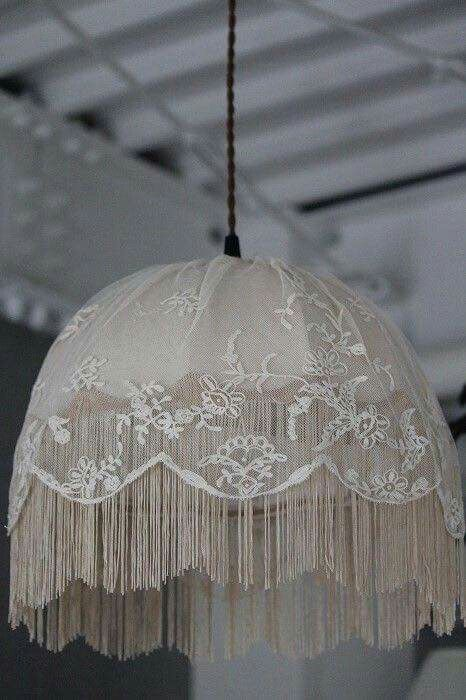 Shabby chic lovely lace lampshadehanging lamp lamps shades shabby chic lovely lace lampshadehanging lamp aloadofball Image collections