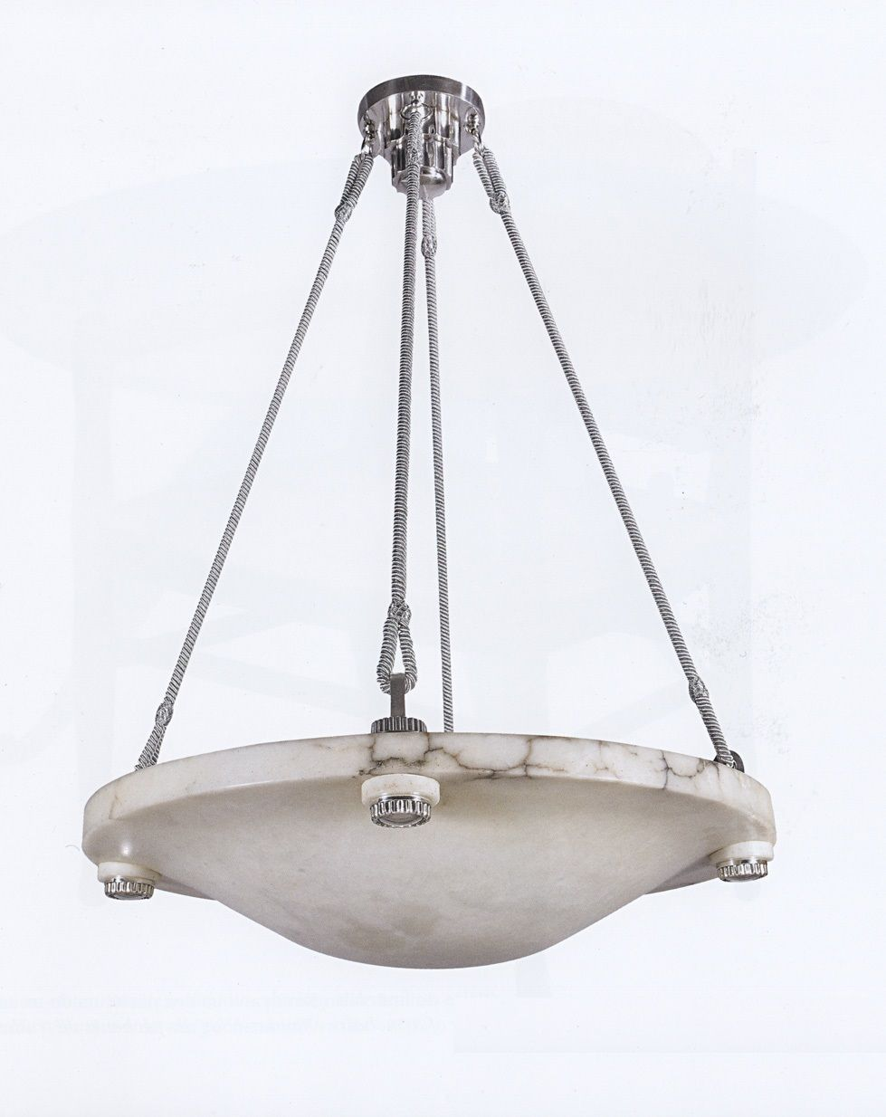 Ruhlmann Alabaster Chandelier Archives Image