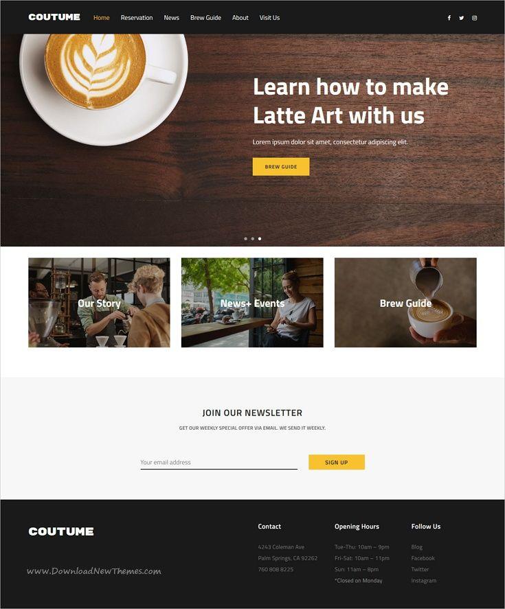 Gastro Multipurpose Cafe Restaurant Wordpress Theme Restaurant Wordpress Themes Gastro Recipe Template