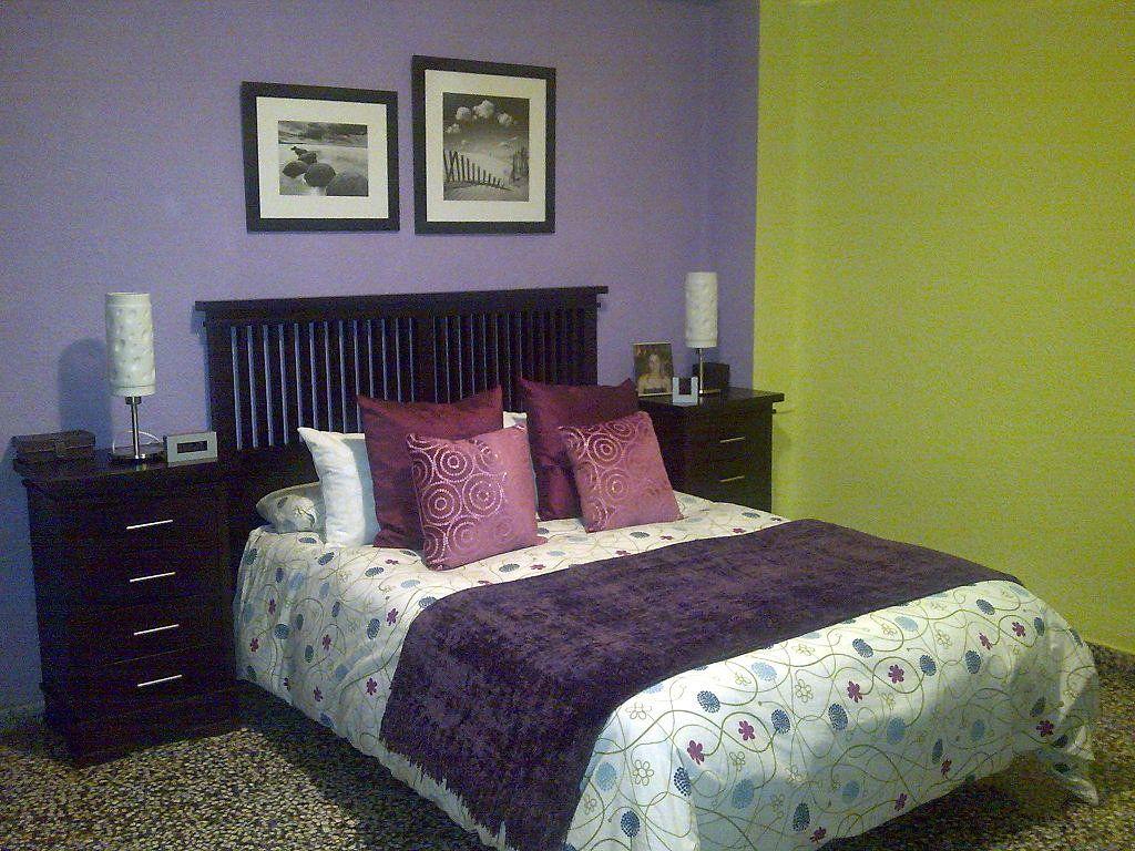 Fotos de cuartos decorar en morado cuartos en morado for Programa para decorar habitaciones online