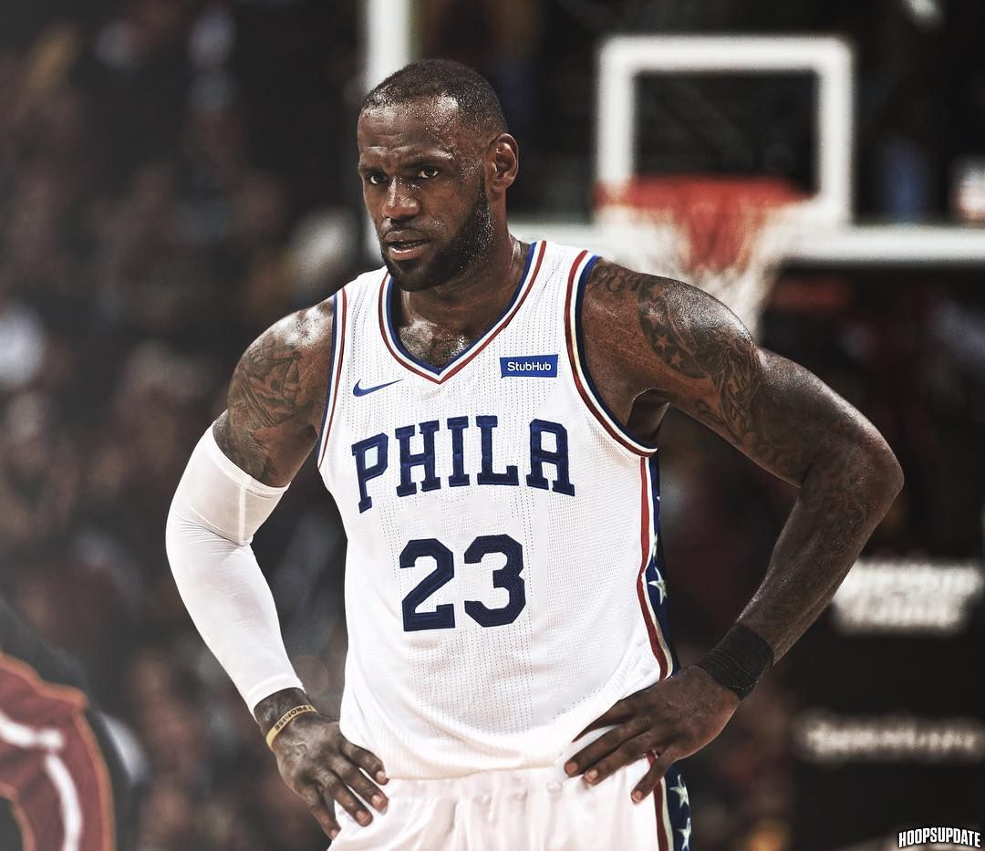 Image result for lebron james 76ers jersey