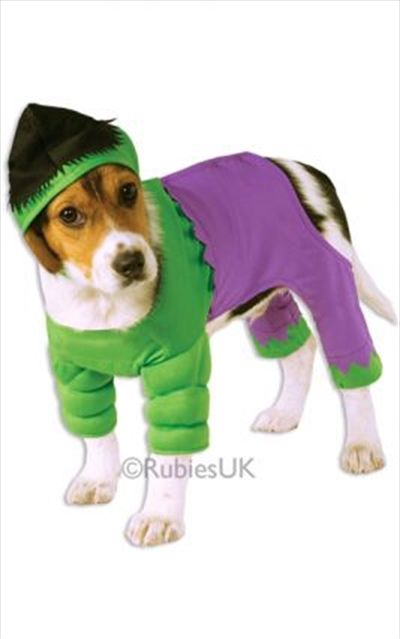 Hulk Xl Pet Costumes Dog Halloween Costumes Dog Costumes