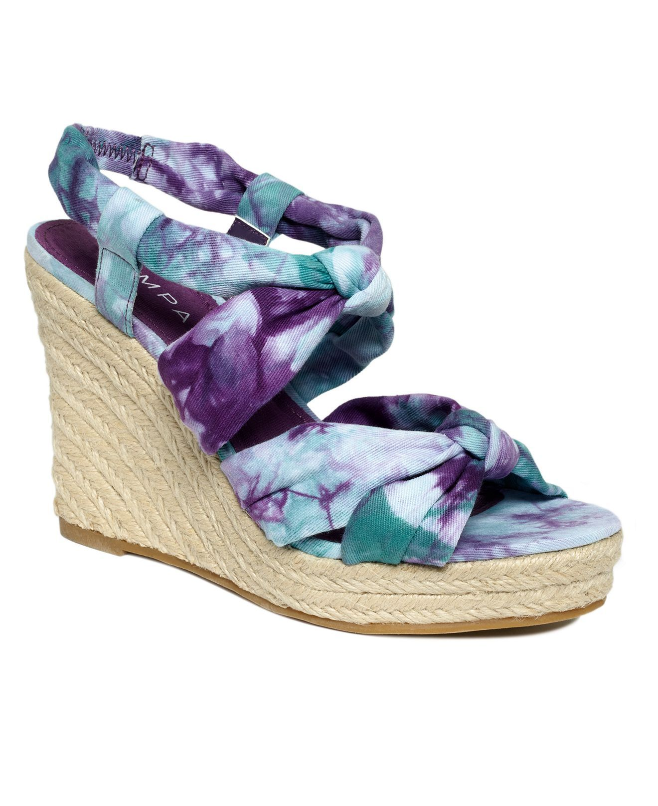 Tie Dye Wedges Wedge Wedding Shoes Wedge Sandals Wedges