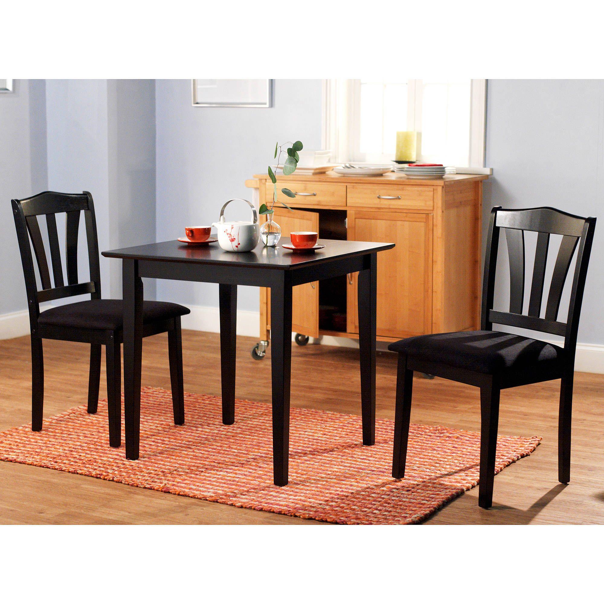 Möbel Dinette Sets Stück Schwarz Küche Tisch Esszimmer Amüsanten El Bett
