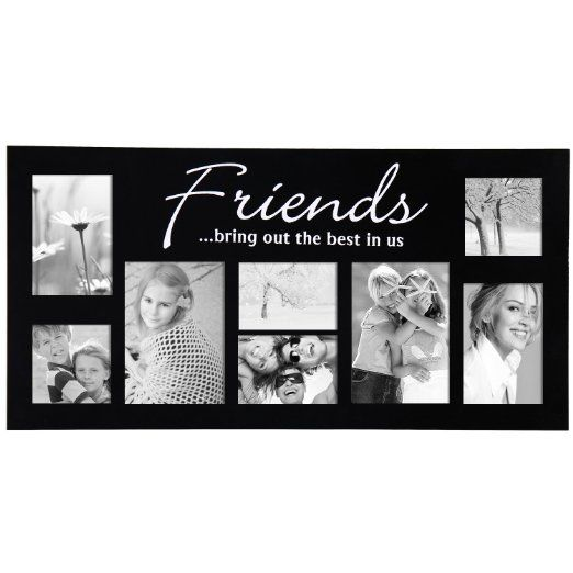 Amazoncom Adeco Pf0029 8 Openings Friends Bring Out The Best