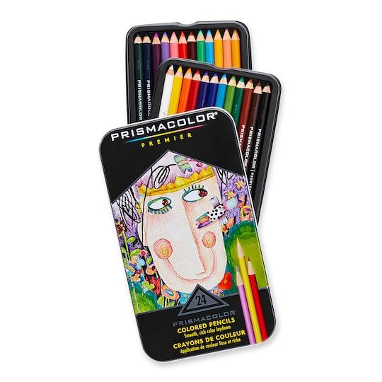 Prismacolor Premier Soft Core Colored Pencil Set Michaels In