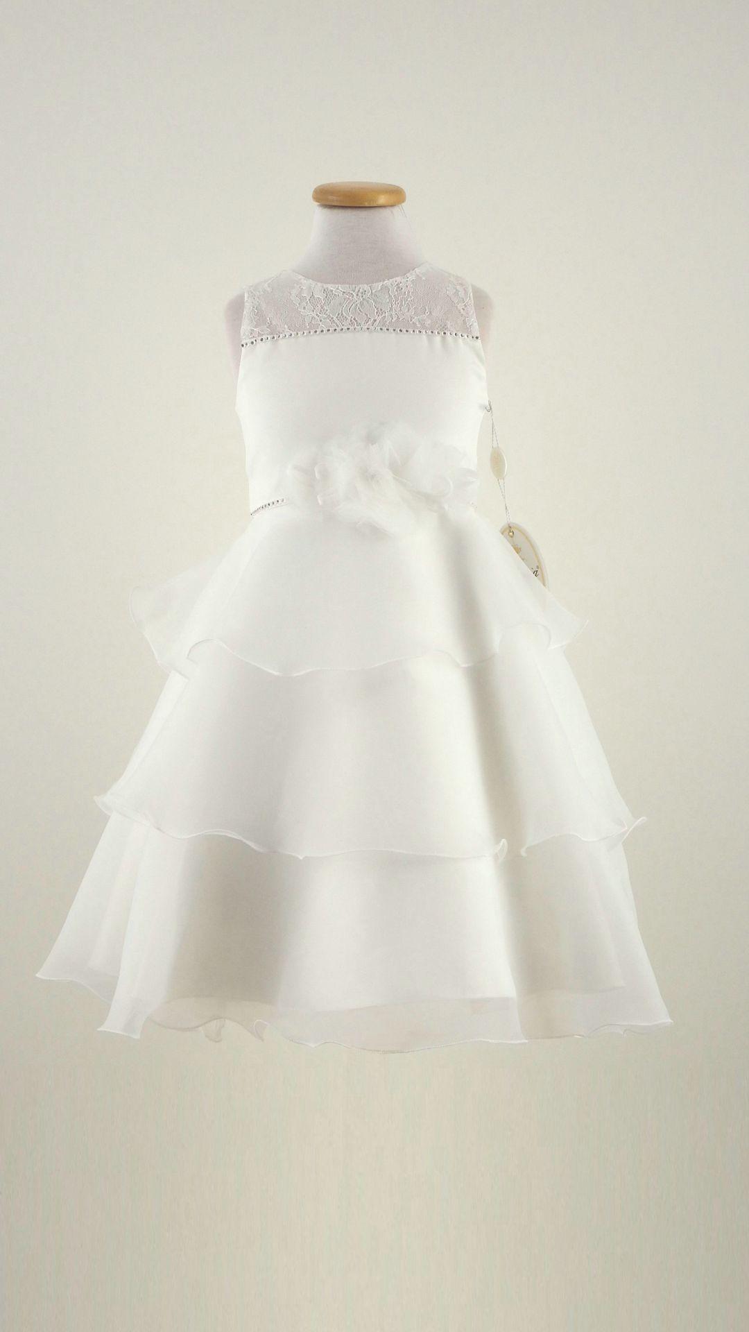 Ragazze Fiore Principessa Partito damigella d/'onore prom abito da sposa battesimo comunione