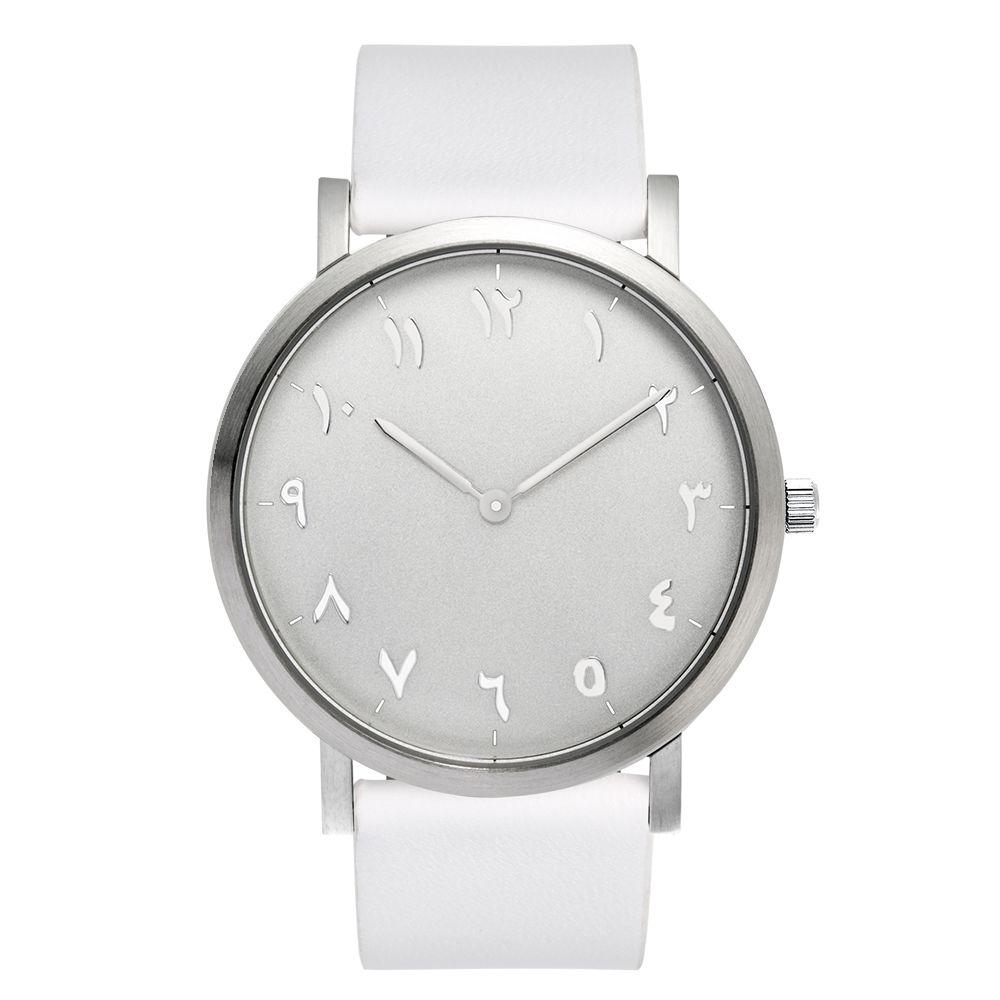 Find More Women's Watches Information about Silver Case White watchband, Unisex Arabic Watch 316L Stainless Steel Case,High Quality case white,China case case Suppliers, Cheap watch arabic from Perfect time. Perfect life on Aliexpress.com