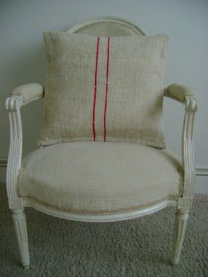 EL TALLER DE CHLOÉ: Cojines lino antiguo