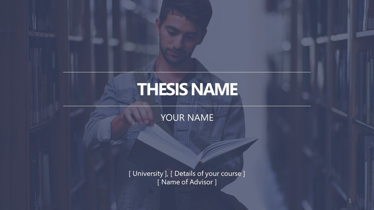 Master Thesis PowerPoint Template - SlideModel | Research Presentation,  Thesis, Powerpoint