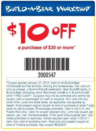 photograph relating to Build a Bear Printable Coupons 10 Off 30 known as Create a Go through: $10 off $30 Printable Coupon Exactly for me