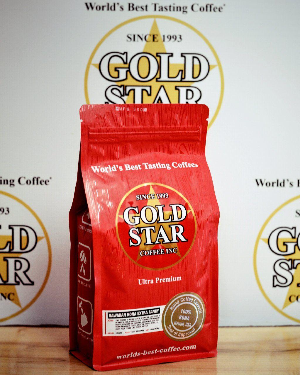 "Gold Star Coffee ""World's Best Tasting Coffee®"" Buy gourmet coffee ..."