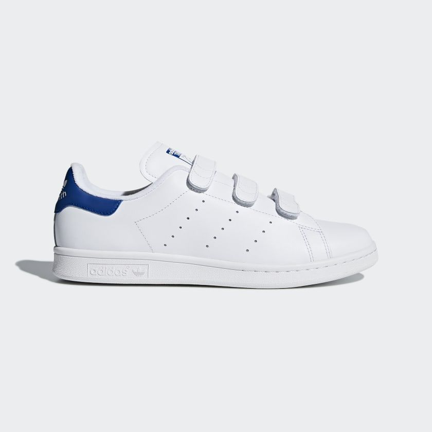 Chaussure Stan Smith Footwear White / Collegiate Royal ...
