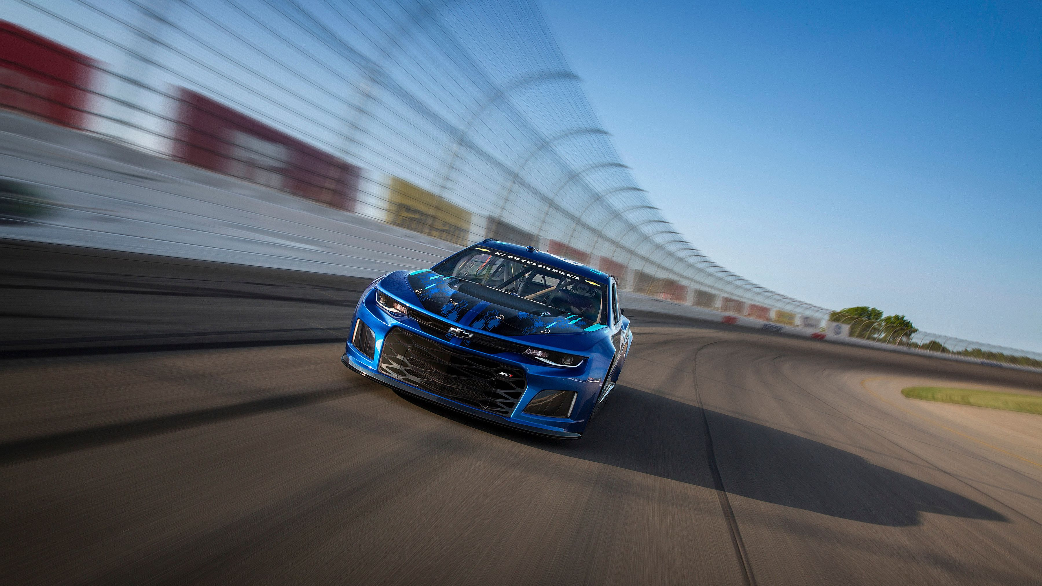 Chevrolet Unveiled Its 2018 Monster Energy Nascar Cup Series Car Thursday At Its Corporate Headquarters Nascar Race Cars Monster Energy Nascar Nascar Racing