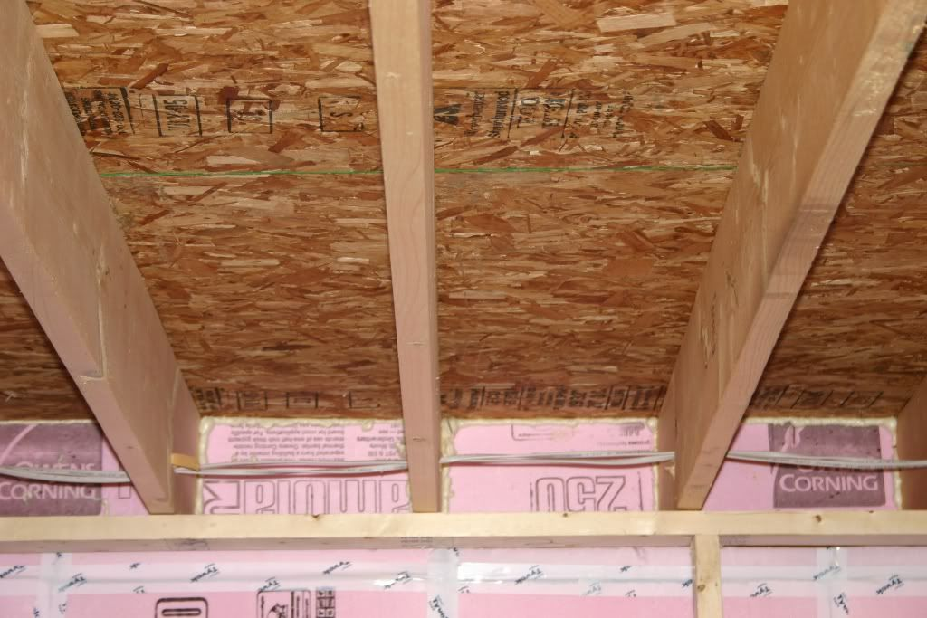 Image Result For That Gap Between Cinder Block Wall And Floor Joist Basement Ceiling Basement Ceiling Insulation Basement Ceiling Options