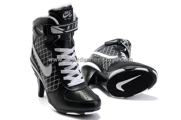 best cheap 68a78 69f37 High Heel Nike Air Force Ones