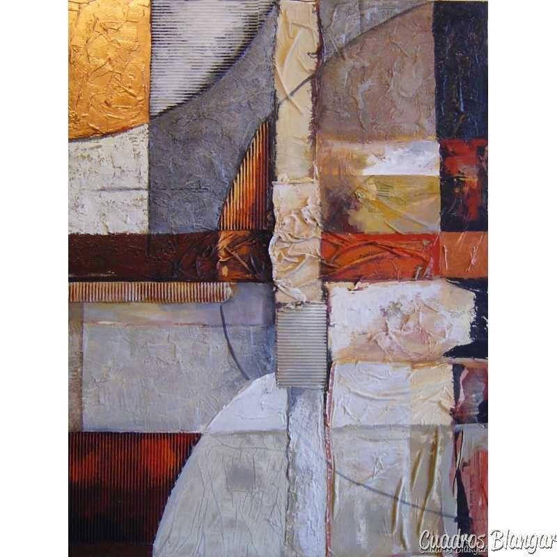 Cuadro Pintura abstracta moderna sin marco Ideal para la decoración ...