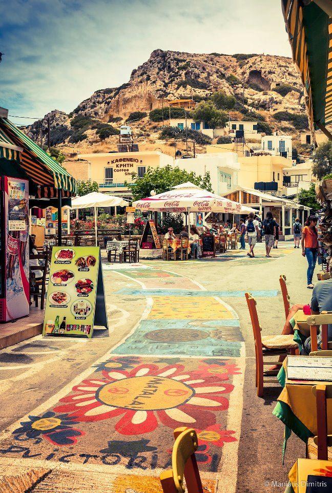 Matala, Heraklion, Crete, Greece