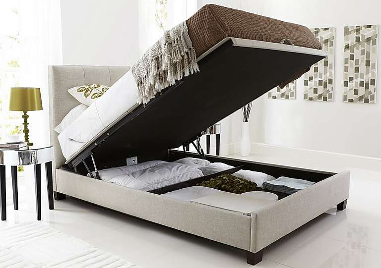 Hadley Ottoman Bed Frame King Storage Bed King Size Storage Bed
