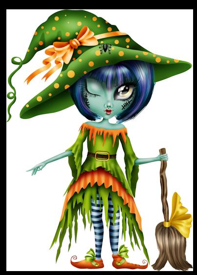 Pin de Anita Vasquez-Centeno en Brujitas | Dibujos de halloween, Dibujos  animados de halloween, Muñecos halloween