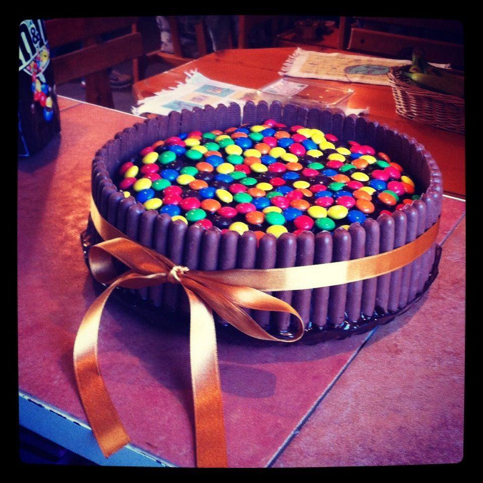 my homemade chocolate cake ^_^