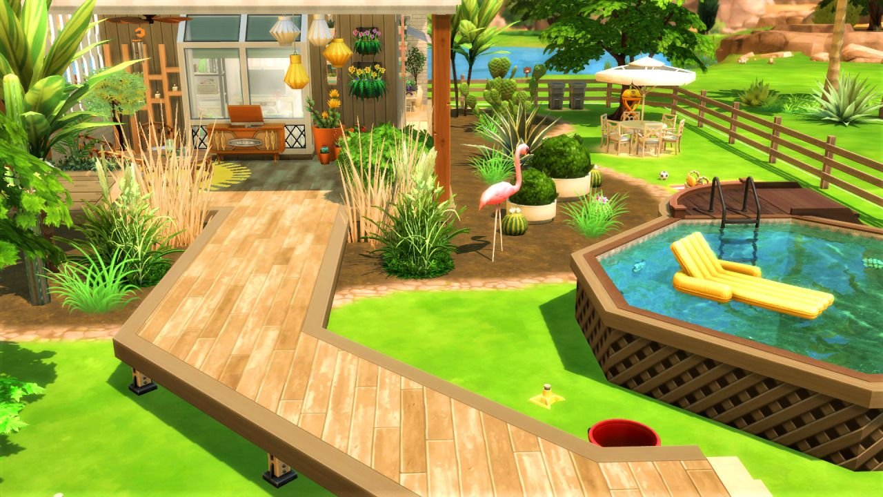 The Sims 4 creations by agathea Sims house, Sims 4