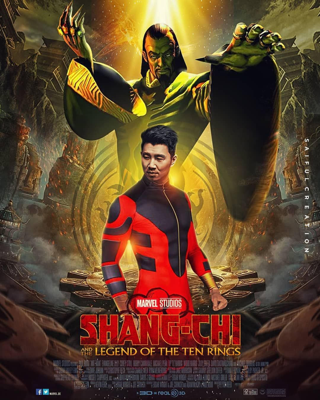 Polubienia 423 Komentarze 6 Saifulcreation Na Instagramie Simuliu Shang Chi The Legend Of Ten Rings This Mov Superhero Movies All Marvel Movies Marvel