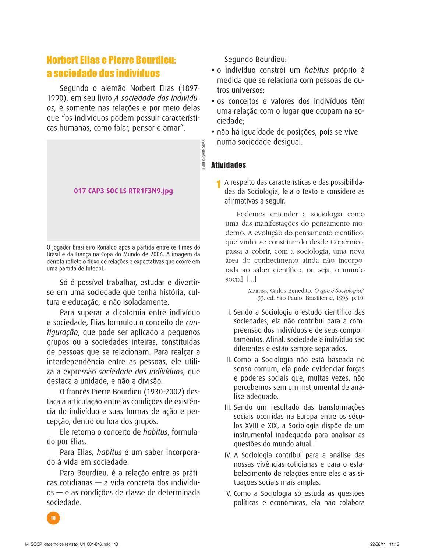 Sociologia Para O Ensino Medio Caderno De Revisao Ensino Medio