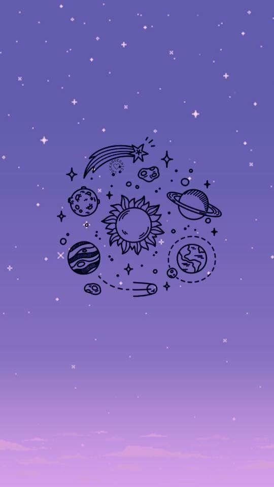 Wallpapper Estrelas Universo Papel De Parede Do Iphone Papel